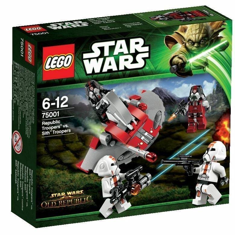 LEGO Star Wars 75001  Republic Troopers vs. Sith Troop (Box Damaged)