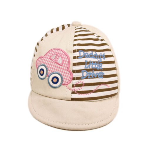 Infant Toddler Unisex Baby/'s Daddy/'s Little Driver Cotton Canvas Cap Hat