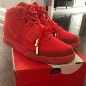 Details about NIKE AIR YEEZY 2 RED OCTOBER AUTHENTIC