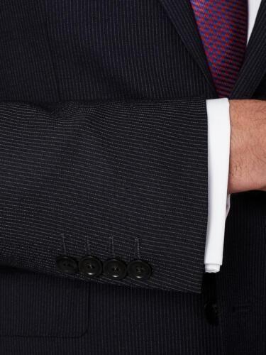 blu Bnwt da taglia John Lewis Giacca 38r Fit 140 uomo Stripe Tailored £ scuro wzxOH0Oq