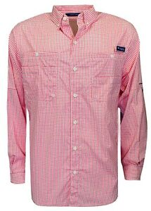 b475c1ea195 New Columbia- Long Sleeve Super Tamiami Shirt Intense Red Size Large ...