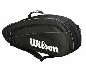 Wilson Federer Team 6 Pack Bag Sac De Tennis-afficher Le Titre D'origin