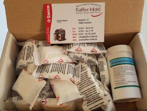 25x Nettoyage Comprimés /& 25x pastilles pour Jura Impressa C E F S J Z
