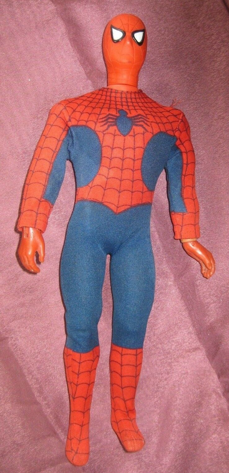 Vintage SPIDER-homme 12  Action  Figure AF MARVEL 1976 rouge torso & hands variant  site officiel