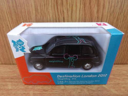 Corgi TY66118 Destination London 2012 Olympics Model Taxi #16 Weightlifting