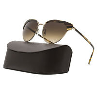 Oliver Peoples Josa Womens Sunglasses 523613 Cocobolo Brushed Gold / Umber Brown on sale