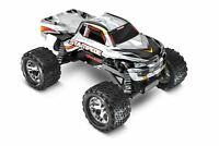 Traxxas - Stampede 1/10 Monster Truck Silver, Rtr W/id Battery & 4