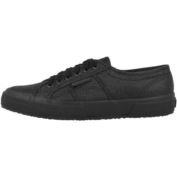 Superga 2750 Lamew shoes women Completo black S001820-912 Casual Sneaker Moda
