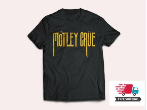 MOTLEY CRUE PUNK ROCK BAND T SHIRT MEN/'S SIZES S to 5XL T2