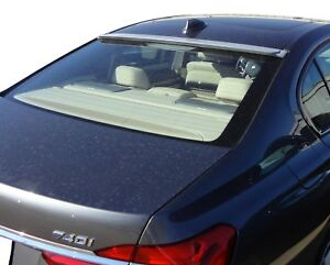 Painted 02-08 BMW E65 7-Series A Type Roof Spoiler Rear Wing 668