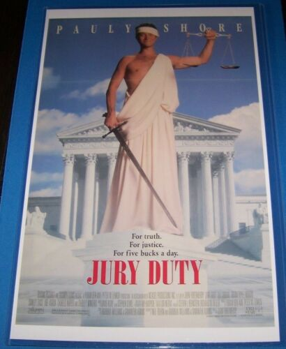 Jury Duty 11X17 Movie Poster Pauly Shore