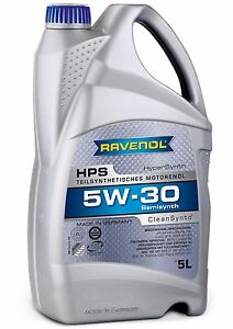 ravenol hps 5w 30 motor oil bmw longlife 98 approved meets. Black Bedroom Furniture Sets. Home Design Ideas