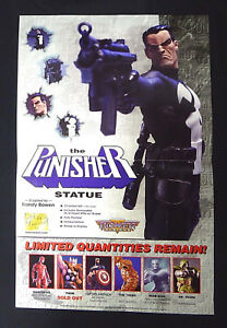 The-Punisher-Statue-Poster-Promo-New-2000-Marvel-Comics-Bowen-Designs