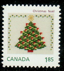 Canada-2691i-Christmas-Craft-Die-Cut-From-Booklet-MNH