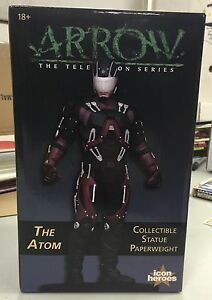 DC-THE-ATOM-collectible-paperweight-statue-NEW-Icon-Heroes