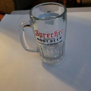 "Sprecher Root Beer Brewing Co. 6"" Glass Mug, Milwaukee, Wisconsin"