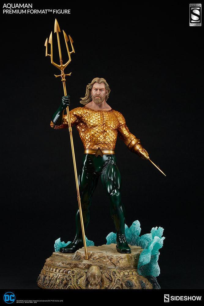 edición limitada Sideshow EXCLUSIVE Aquaman Premium Format STATUE DC Comics Comics Comics  ahorra hasta un 50%
