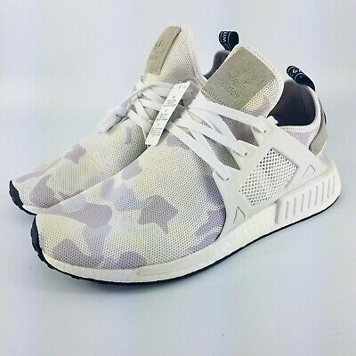 pretty nice ce32c 62801 adidas NMD XR1 White Duck Camo Running Shoes - White/Camo - BA7233 - Size:  13 4057283204362 | eBay