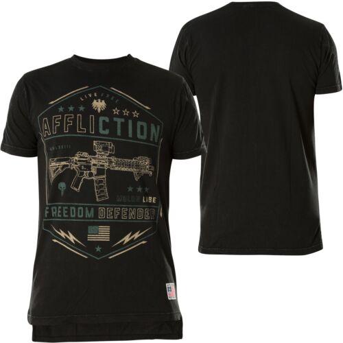 Affliction T-shirt Recoil Noir T-shirts
