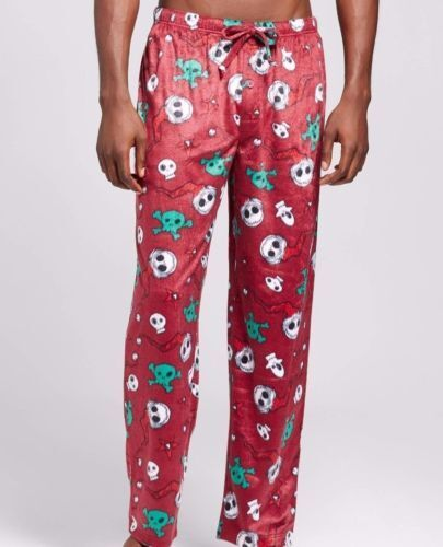 c54d0054a0 Nightmare Before Christmas Men Lounge PJ Sleep Pants Medium Jack  Skellington for sale online