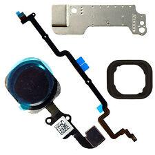 5 Part Black Home Button Flex Cable Assembly Part Fix for iPhone 6 Plus