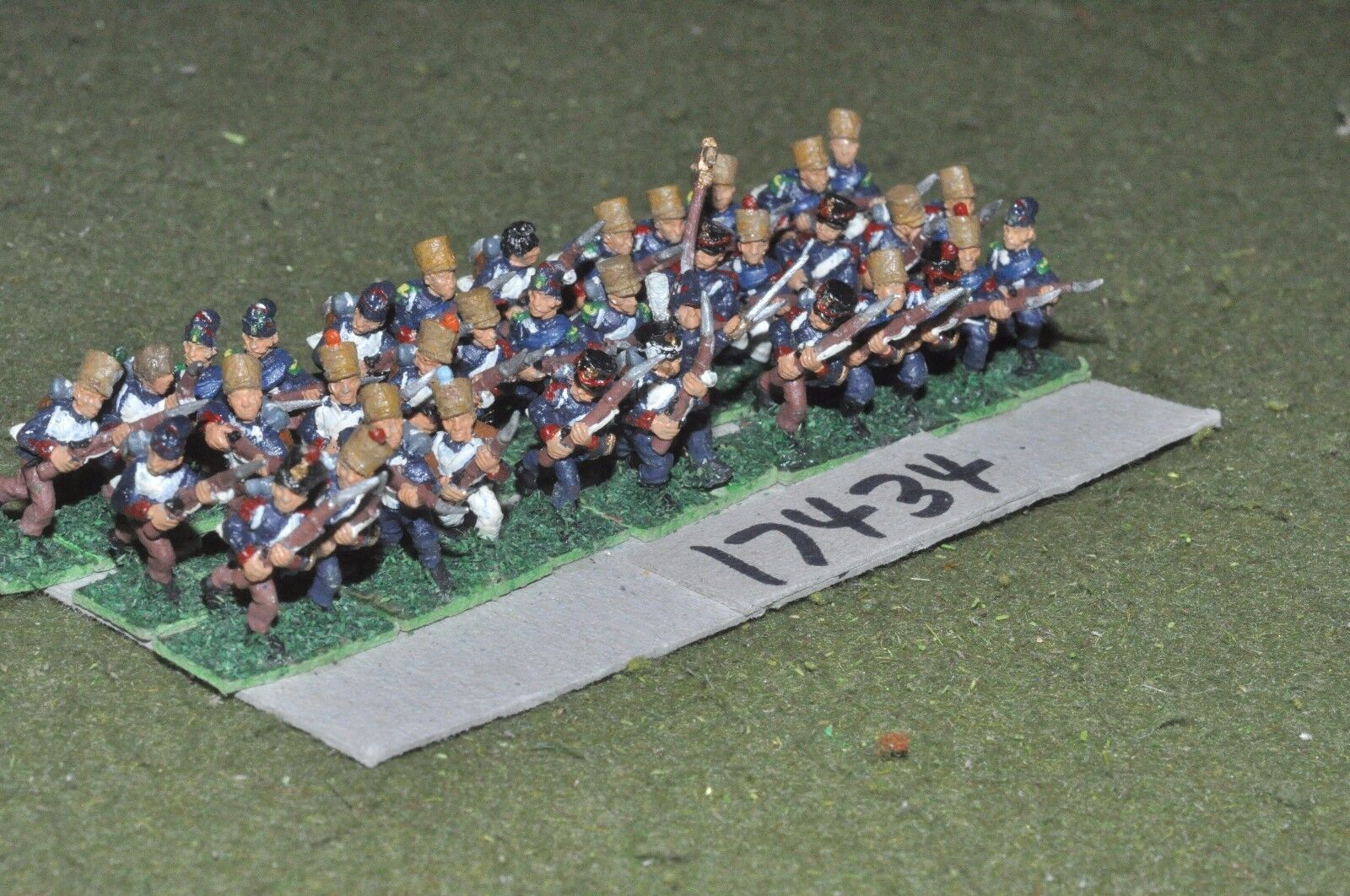 15mm napoleonic   french - infantry 36 figs - inf (17434)
