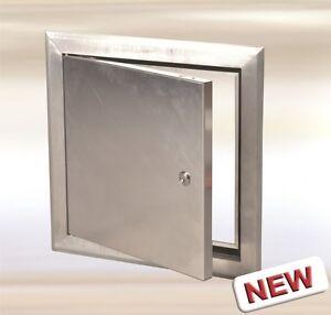 12 X 12 Access Aluminum Door Alulight For Exterior And Interior Key Lock Ebay