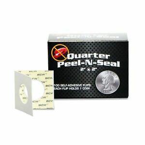 200 Dime 2x2 Mylar Cardboard Coin Holder Flips BCW Storage Highest Quality Flip