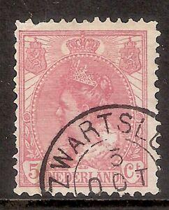 Nederland-Kleinrondstempel-op-NVPH-nr-60