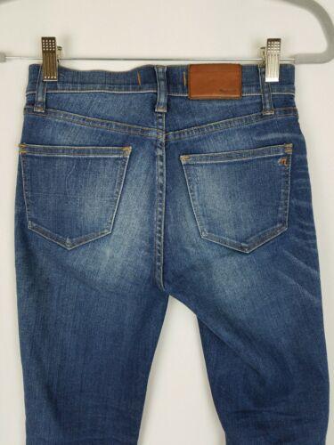 Madewell Denim Blue 25 Women Jeans Skinny wrx76wqz
