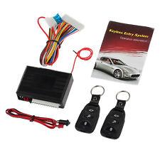 Universal Car Keyless Central Remote Control Kit Door Locking Alarm Entry System