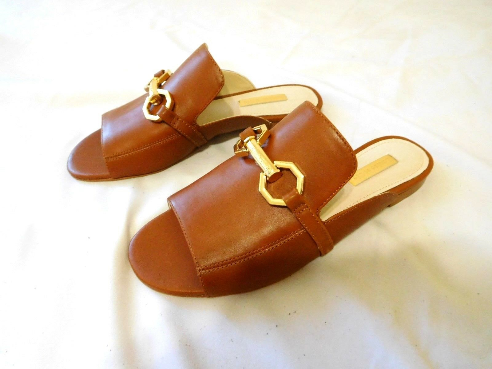 Louise et Cie Slip shoes on Mule Brown Size 7.5 New Goodtreasures123 Dark Amber