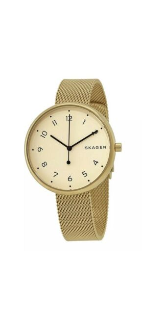 26b80defeb61 Women s Skagen Signature Gold Steel Mesh Watch SKW2625 for sale ...