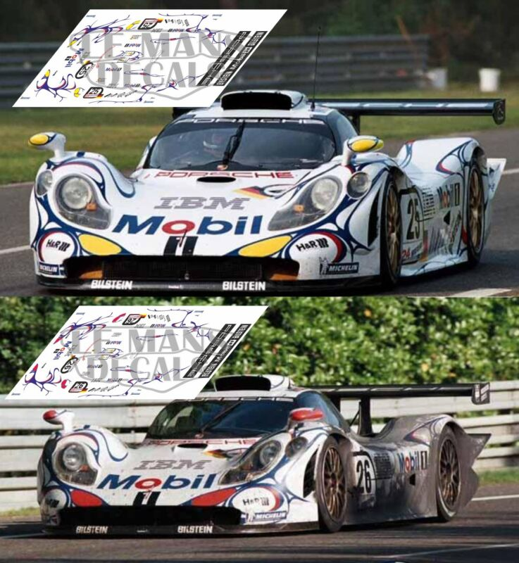Calcas Mercedes O 317 Porsche Transporter Essex 1:32 1:43 1:24 1:18 decals