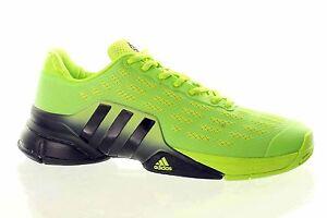 sports shoes d05ab 68d23 A imagem está carregando adidas-Barricade-2016-AF6797-Mens-Trainers-Tennis -SALE-
