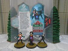 Heroscape Custom Kabuki Assassins Double Sided Card & Figures w/ Sleeve Vydar