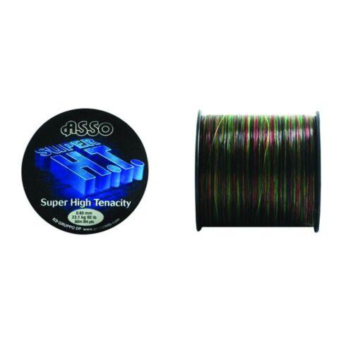 High Tenacity Nylon Fishing Line Rainbow ASSO SUPER H.T