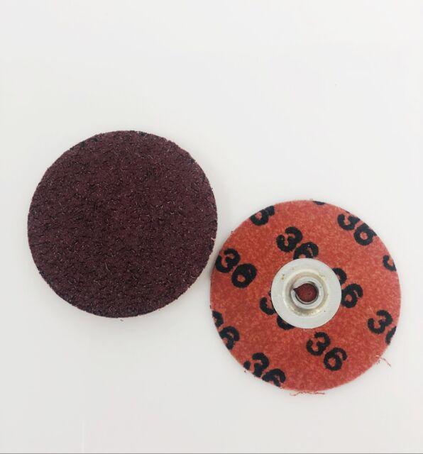 "Merit Abrasvies 592422 Sanding Discs SPE ZMD 2/"" A//O P180 Grit SL2 Box of 100"