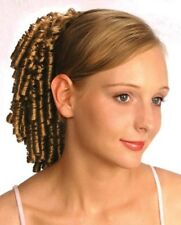 """11"""" SMALL SPIRAL CURLS CURLY HAIR PONYTAIL HAIRPIECE DRAWSTRING SHIRLEY TEMPLE"""