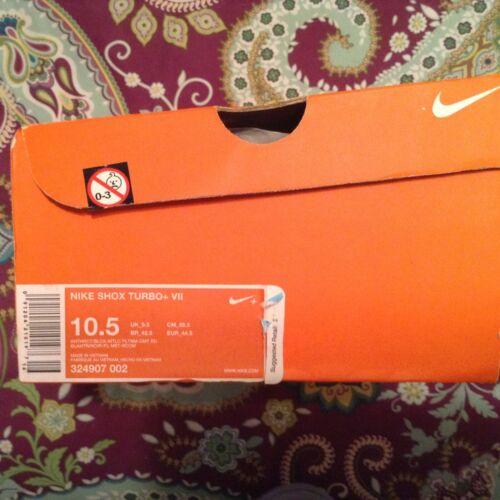Men's Nike Shox Turbo+ VII