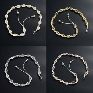 HOT-Summer-Beach-Boho-Sea-Shell-Pendant-Chain-Choker-Necklace-Fashion-Jewelry