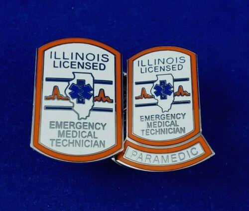 ILLINOIS EMT PIN   Item #55