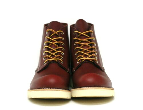 """8 ~ 10.5 *USA MADE* Round Toe 09105-1 Sizes Red Wing Heritage 6/"""" Boots Copper"""