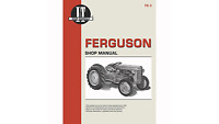 I&t Shop Manual For Massey Ferguson Te-20 To-20 To-30