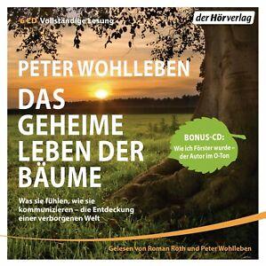 PETER-WOHLLEBEN-DAS-GEHEIME-LEBEN-DER-BAUME-6-CD-NEW
