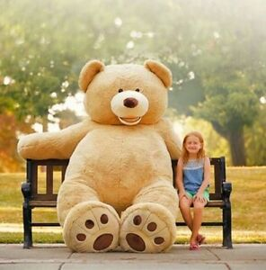 Huge Giant Teddy Bear 93 High Quality Plush Life Size Stuffed