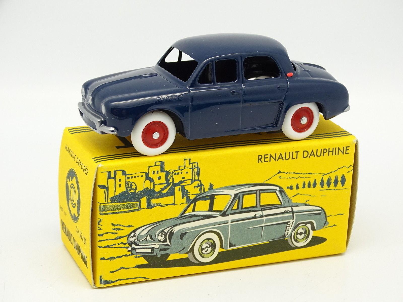 CIJ By Norev Norev Norev 1 43 - Renault Dauphine blue 01224e