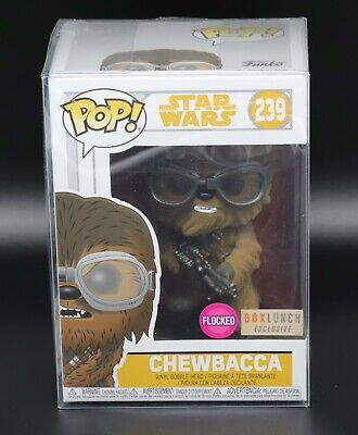 #239 Vinyl Figur Funko Chewbacca Goggles Flocked Exclusive Star Wars Solo POP
