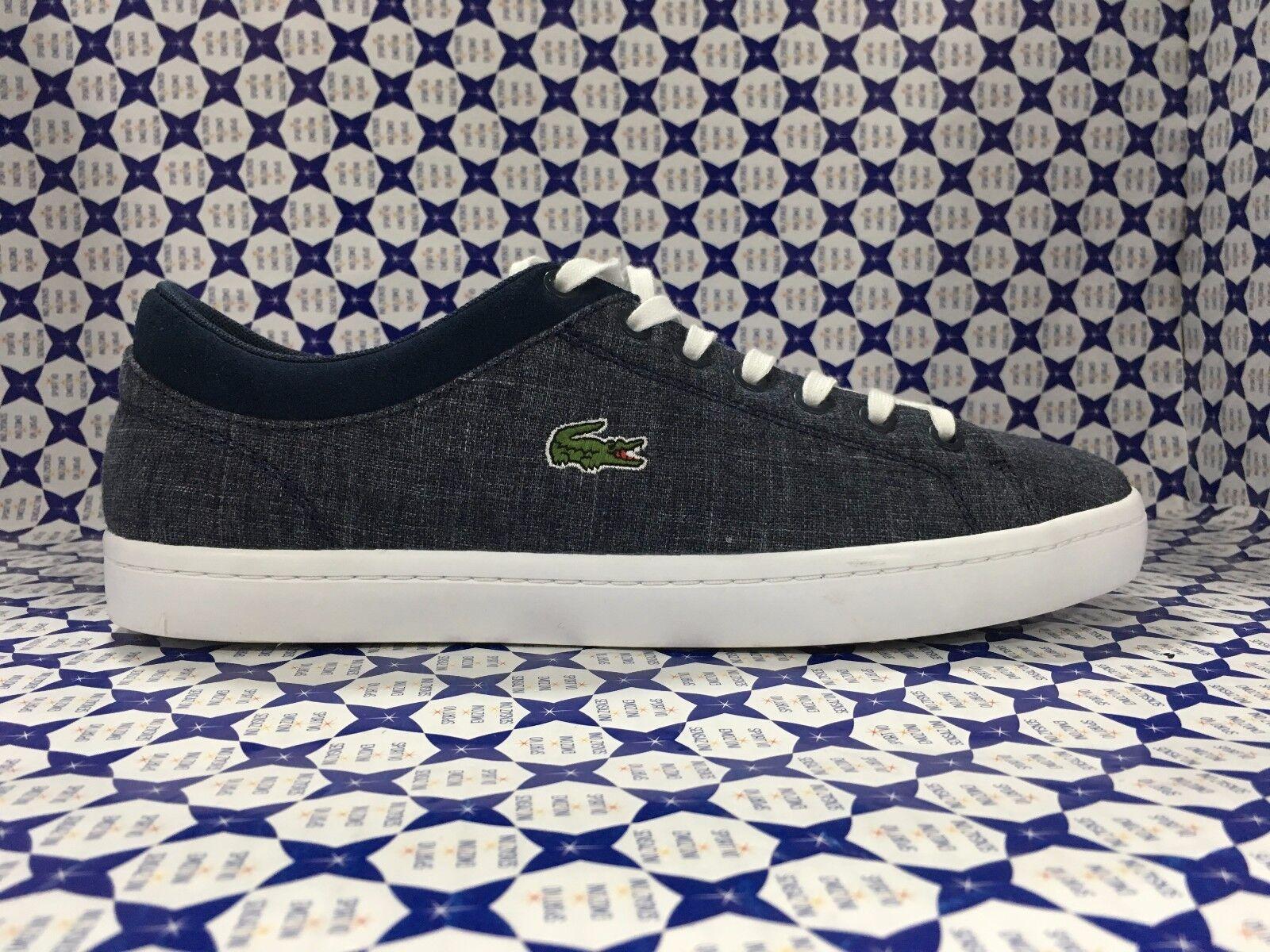 Scarpe casual da uomo  Scarpe LACOSTE Uomo Sneakers Straightset 217 - Denim - CAM1063