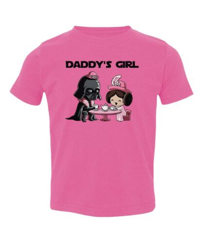 Adorable Star Wars Daddy/'s Girl Toddler T-Shirt